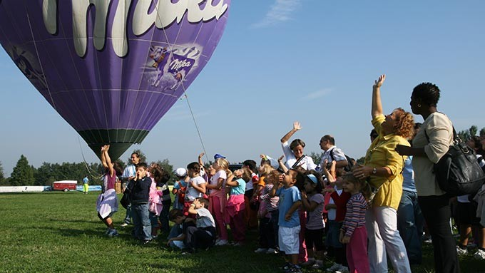 Tethered Hot Air Balloon Ride for events