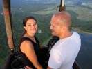 A dream as a gift: Have a hot air balloon flight with your partner