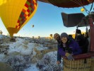 Admire in every season astonishing landscapes with a hot air balloon excursion