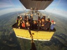 You want to fly as a bird? Fly with your company on a hot air balloon