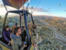 Going to an hot air balloon rally in group is an exclusive experience